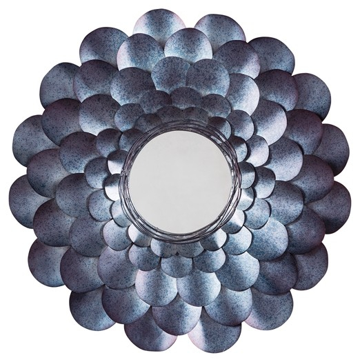 Deunoro – Blue – Accent Mirror | A8010061 | Mirrors | Home In Ogier Accent Mirrors (Image 6 of 20)
