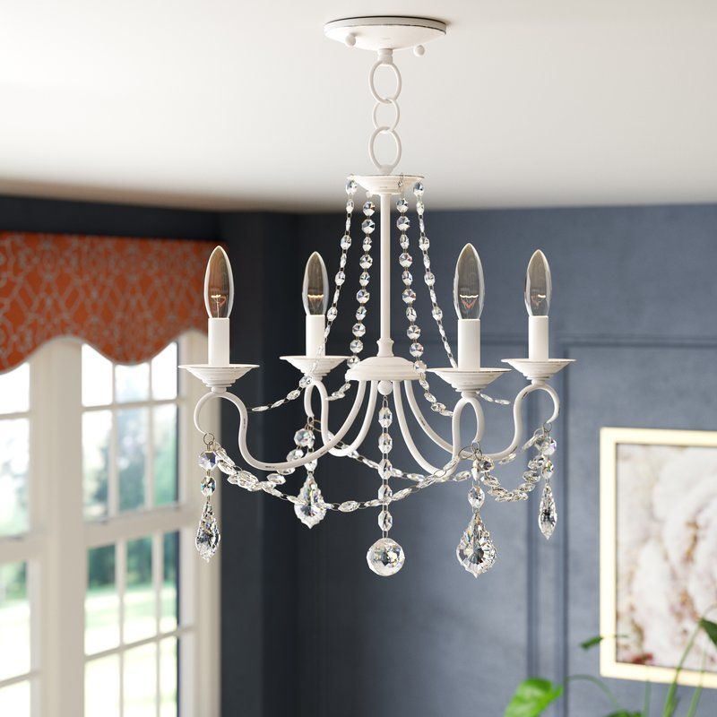Devana 4 Light Candle Style Chandelier   Master Bath Remodel With Regard To Hesse 5 Light Candle Style Chandeliers (Image 9 of 20)