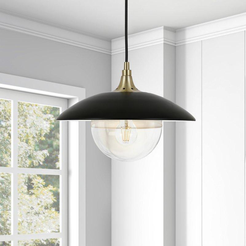 Deveraux 1 Light Single Dome Pendant In Ryker 1 Light Single Dome Pendants (View 18 of 25)