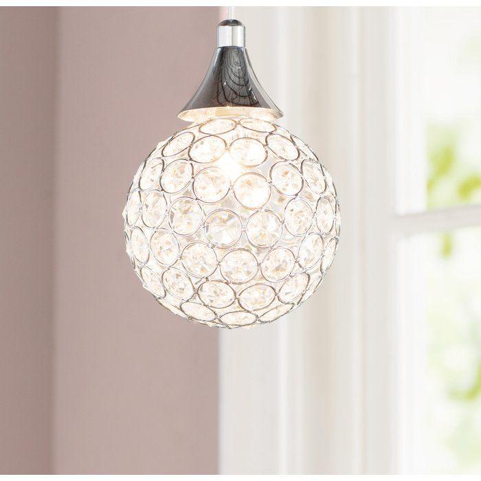 Devereaux 1 Light Single Globe Pendant | For The Home With Regard To Devereaux 1 Light Single Globe Pendants (Image 8 of 25)