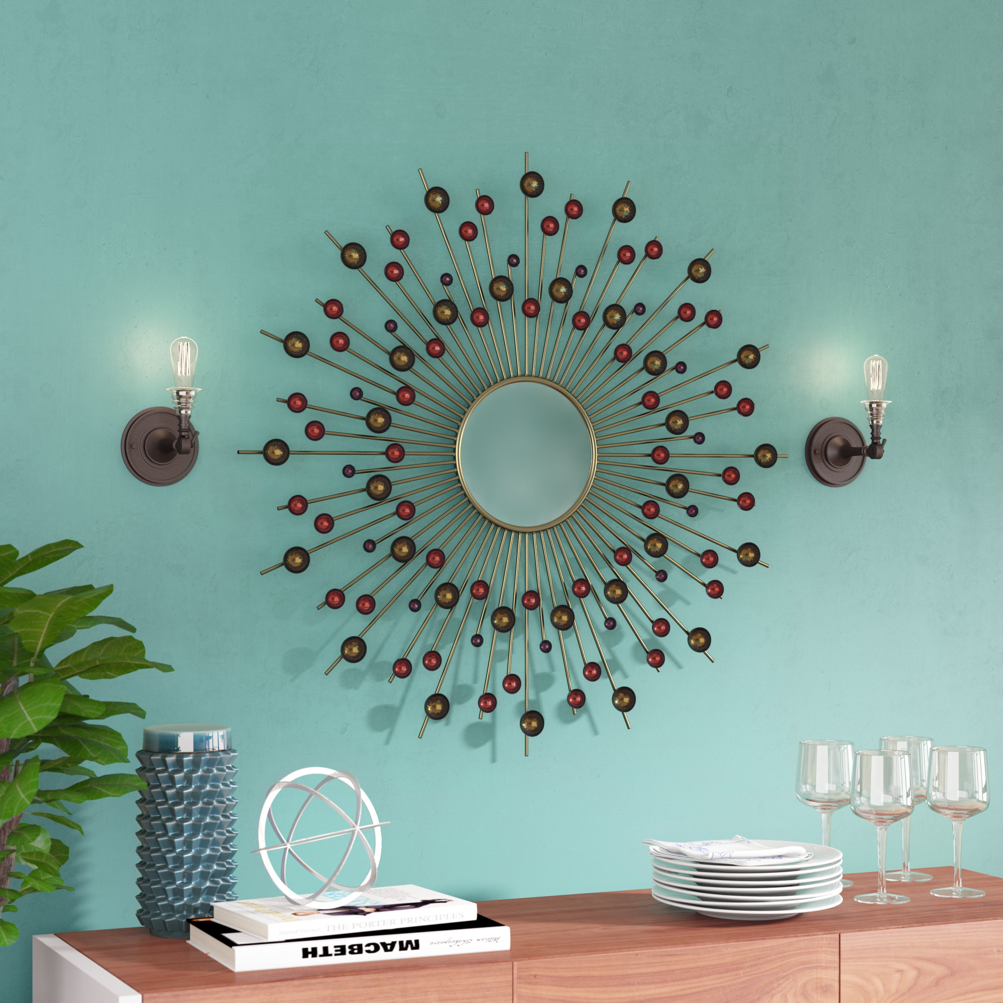 Featured Image of Diamondville Modern & Contemporary Distressed Accent Mirrors