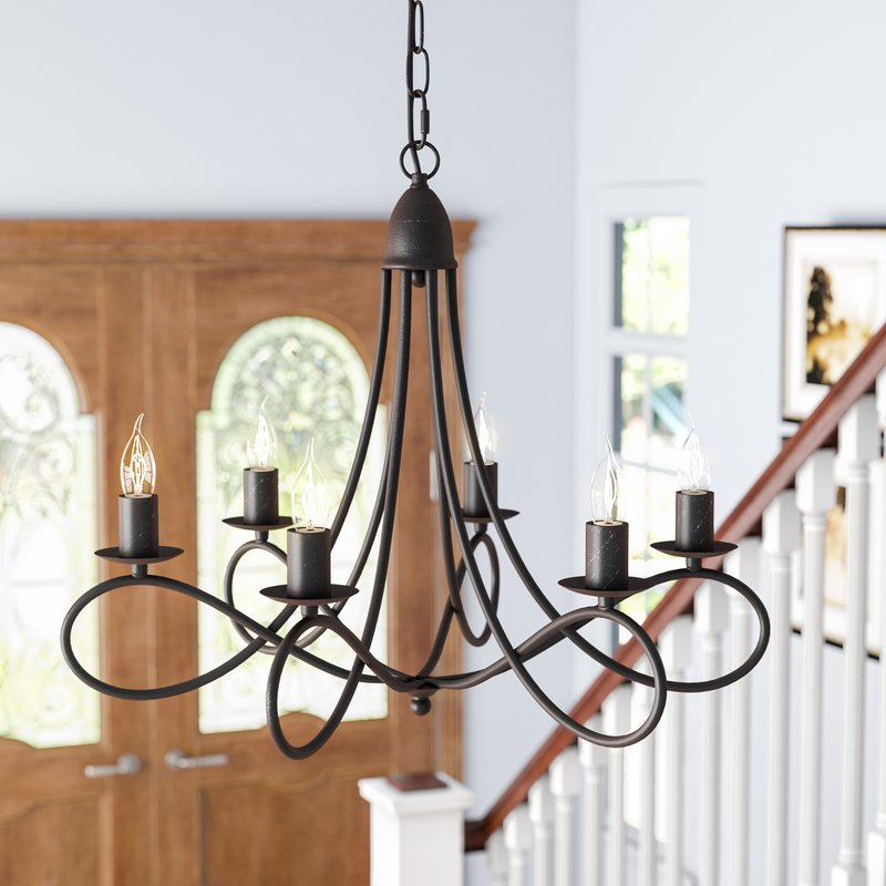 Featured Image of Diaz 6 Light Candle Style Chandeliers