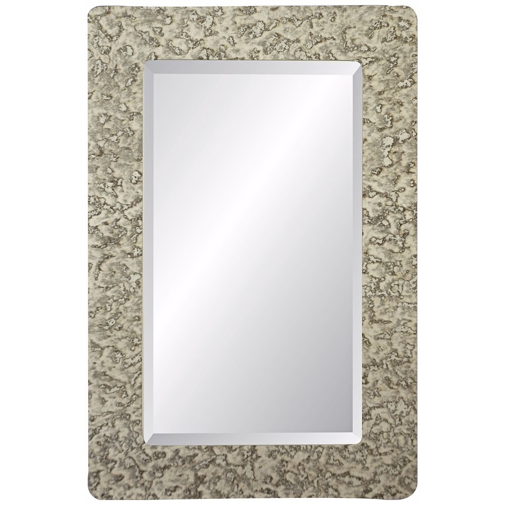 "Dijon Castleton 36"" High Rectangular Wall Mirror – Style In Hilde Traditional Beveled Bathroom Mirrors (Image 7 of 20)"