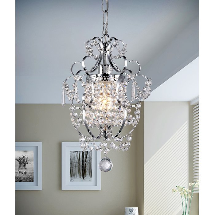 Featured Image of Dilley 1 Light Unique / Statement Geometric Pendants