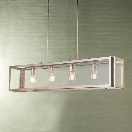Dining Room Lighting For Long Rectangle Table – Google Regarding Hinerman 5 Light Kitchen Island Pendants (View 14 of 25)