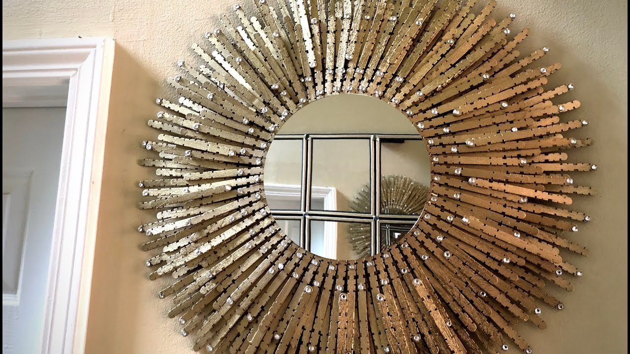 Top 20 Deniece Sunburst Round Wall Mirrors | Mirror Ideas