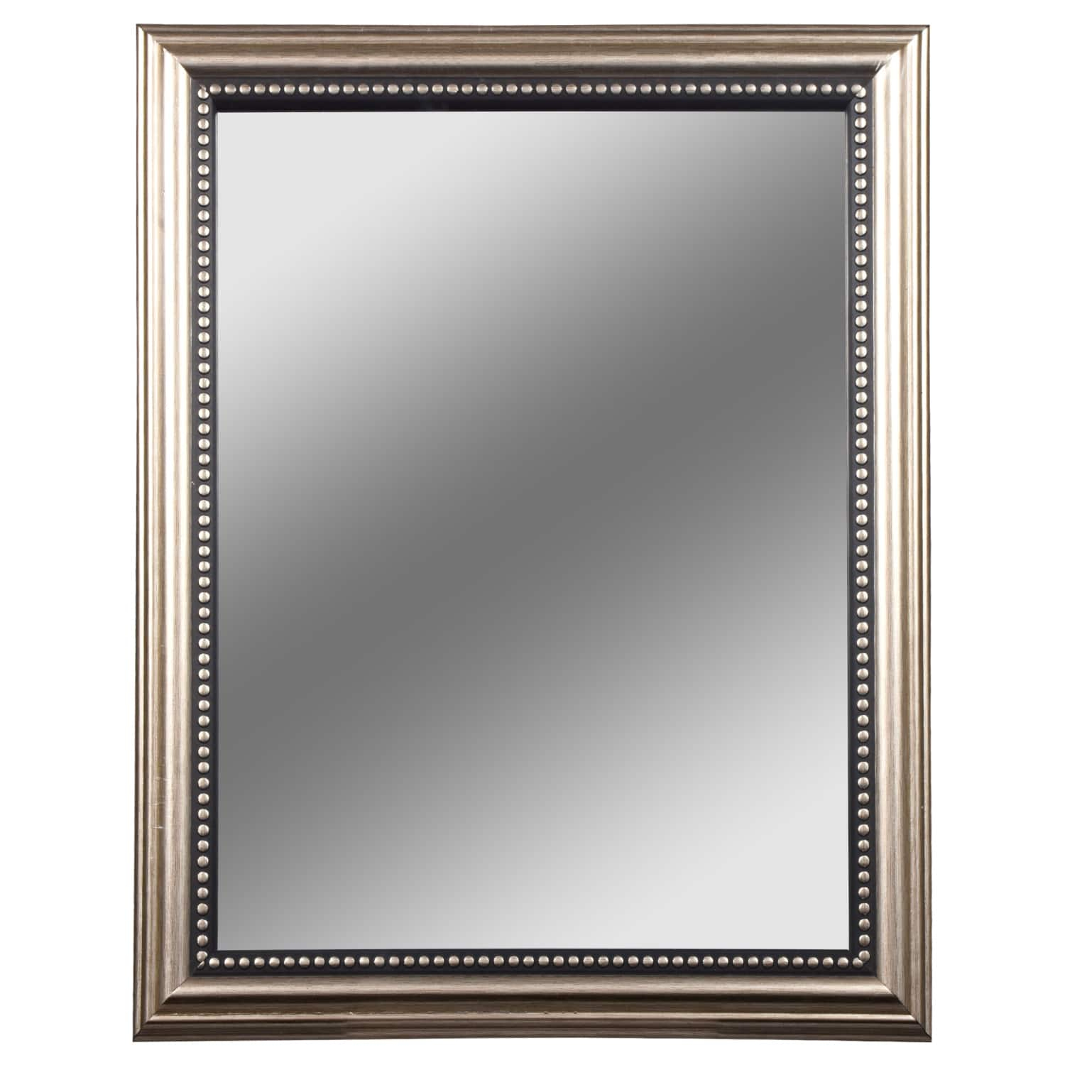 Dollartree | Bulk Accent Mirrors With Silver Plastic In Silver Frame Accent Mirrors (View 4 of 20)