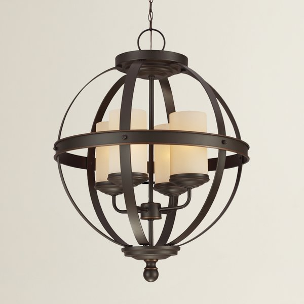 Featured Image of Donna 4 Light Globe Chandeliers