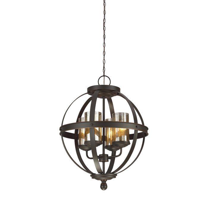 Donna 4 Light Globe Chandelier | Rustic Beach Casa Vibes Pertaining To Donna 4 Light Globe Chandeliers (View 8 of 20)