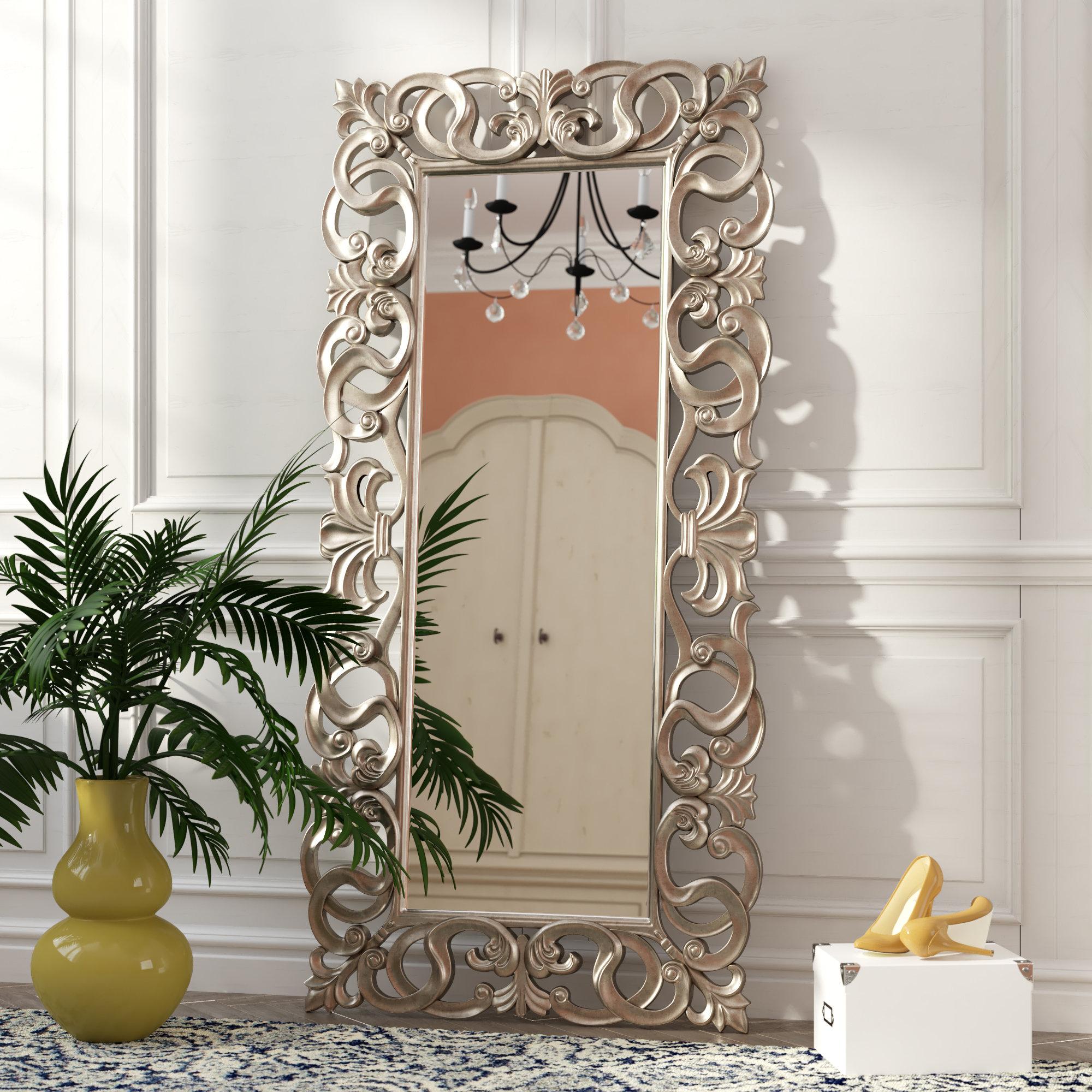 Duke Rectangle Accent Mirror | Wayfair In Lugo Rectangle Accent Mirrors (Image 4 of 20)