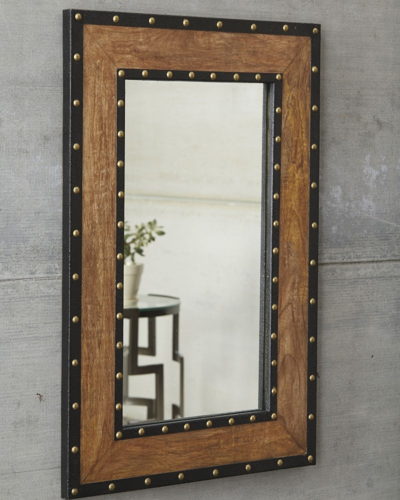 Dulcina – Natural – Accent Mirror Pertaining To Ogier Accent Mirrors (Image 8 of 20)