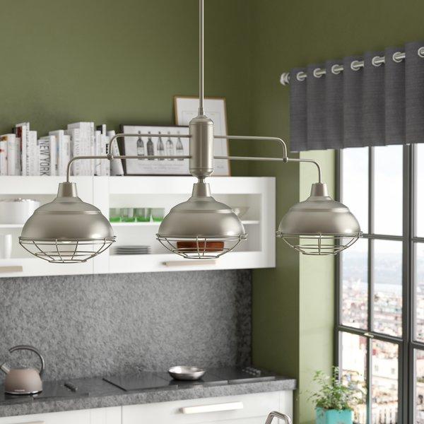 Featured Image of Dunson 3 Light Kitchen Island Pendants