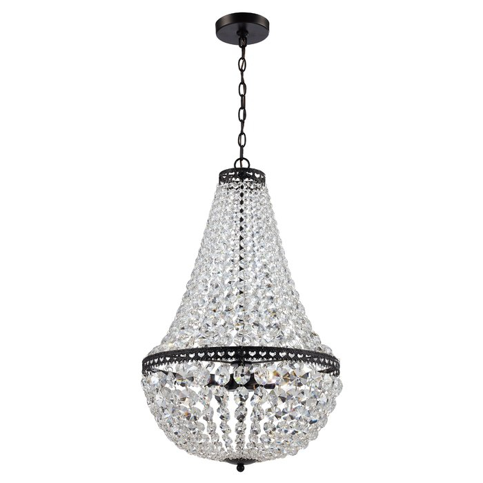 Duron 4 Light Empire Chandelier In Duron 5 Light Empire Chandeliers (Image 4 of 20)