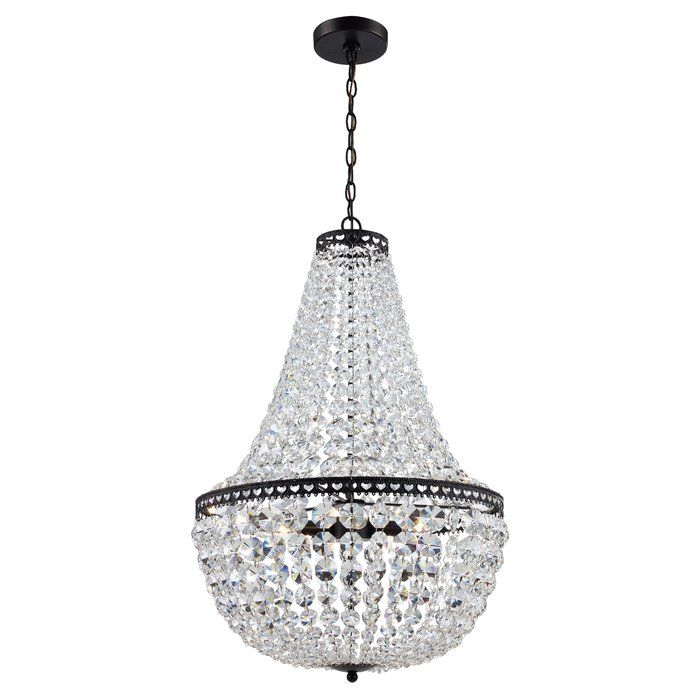 Duron 5 Light Chandelier | Patagonia House | Empire Regarding Duron 5 Light Empire Chandeliers (Image 5 of 20)