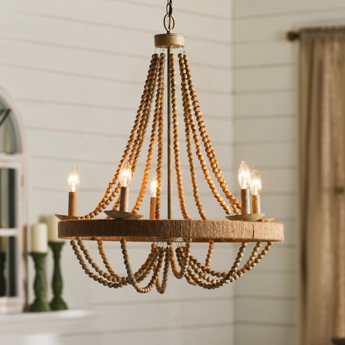 Featured Image of Duron 5 Light Empire Chandeliers