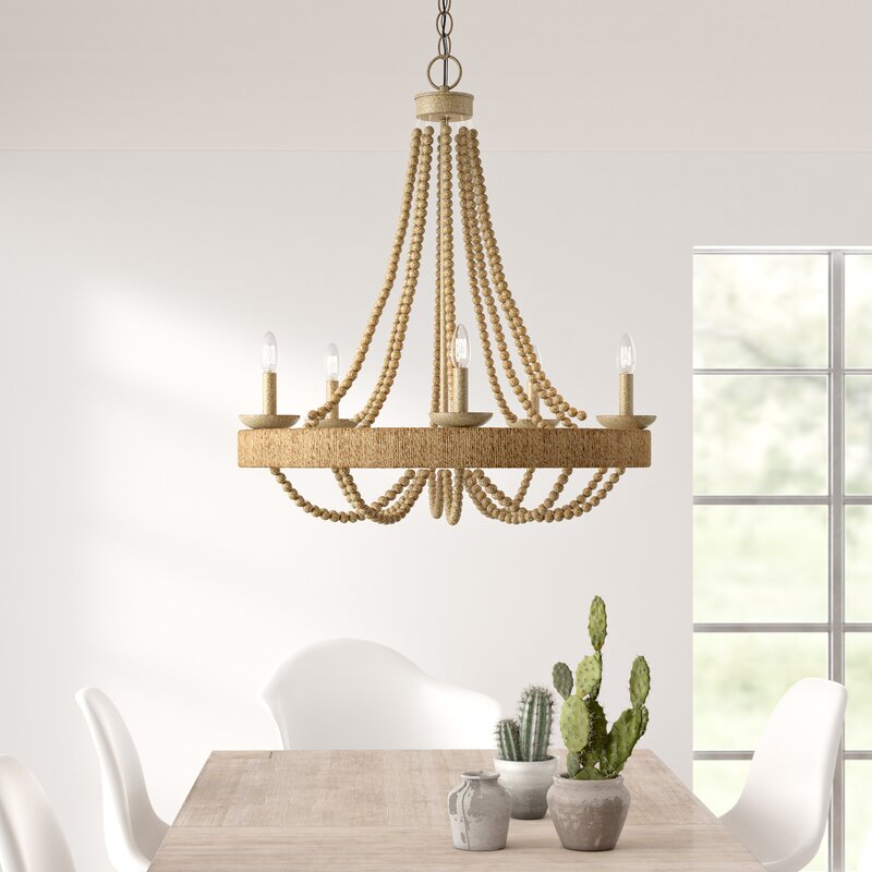 Duron 5 Light Empire Chandelier With Duron 5 Light Empire Chandeliers (Image 9 of 20)