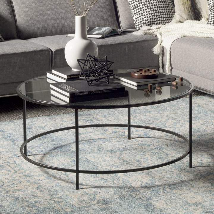 Ebern Designs Hagy Coffee Table | Home In 2019 | Coffee Pertaining To Carbon Loft Heimlich Metal Glass Rectangle Coffee Tables (View 16 of 25)