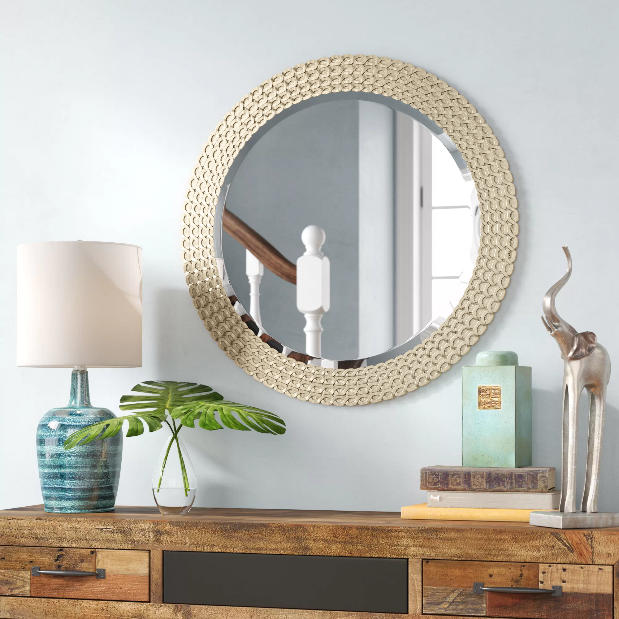 Eclectic Mirrors You'll Love In 2019 | Wayfair In Arrigo Accent Mirrors (View 6 of 20)