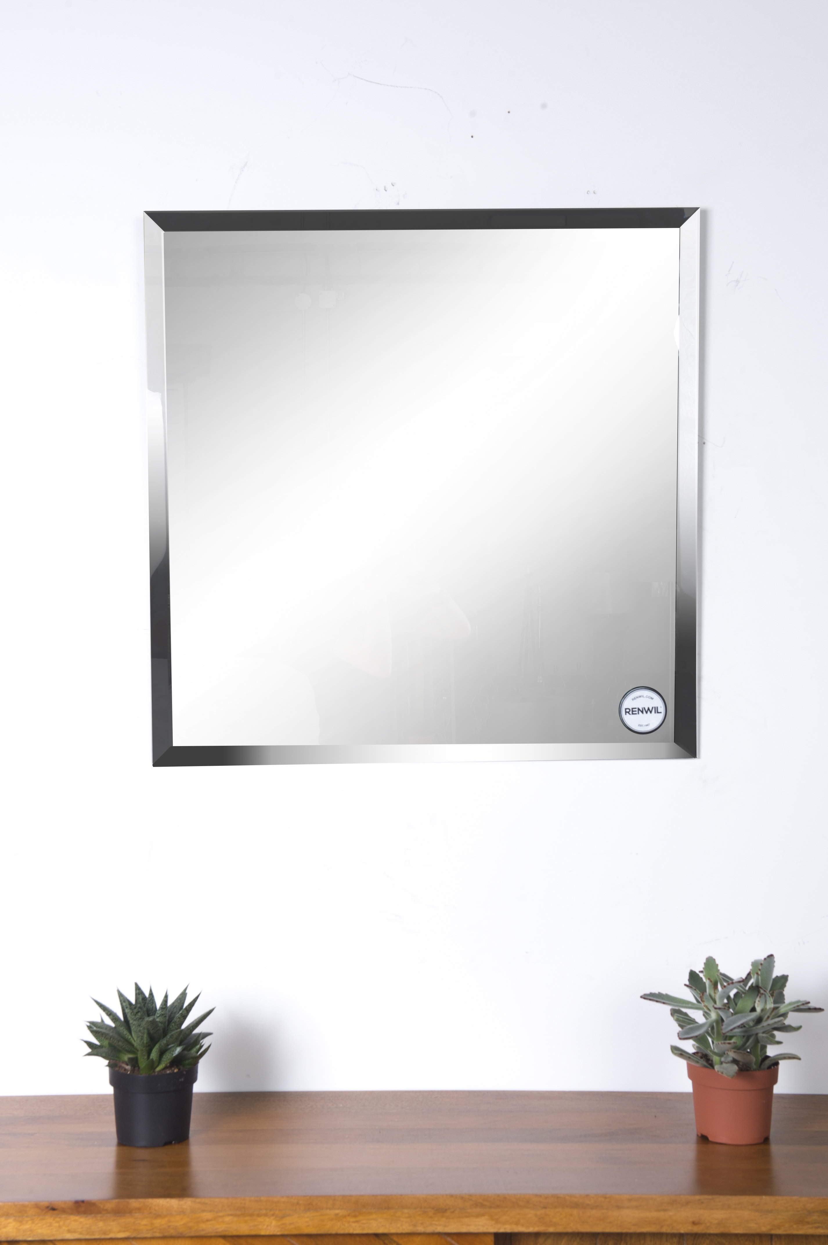 Eclectic Modern & Contemporary Beveled Wall Mirror In Modern & Contemporary Beveled Wall Mirrors (View 19 of 20)