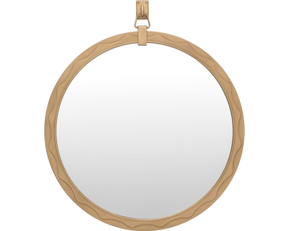 Ed Ellen Degeneres West End Round Mirror Crafted With Mcnary Accent Mirrors (View 11 of 20)