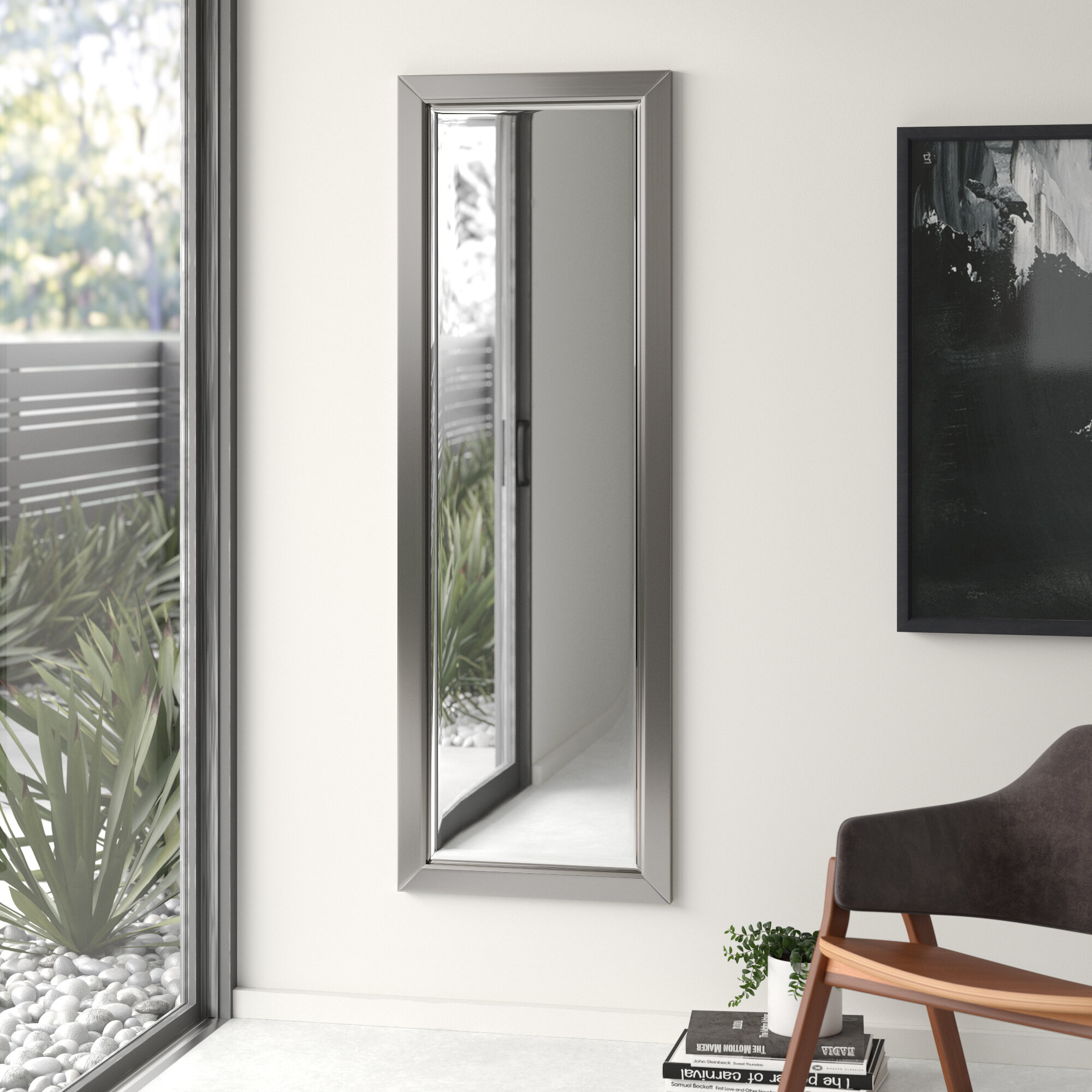 Edge Minimal Modern & Contemporary Full Length Body Mirror Throughout Sartain Modern & Contemporary Wall Mirrors (View 7 of 20)