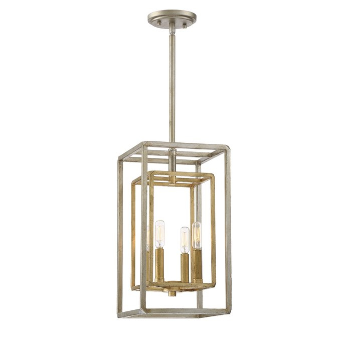 Eglantina 4 Light Lantern Square / Rectangle Pendant Within 4 Light Lantern Square / Rectangle Pendants (Image 10 of 20)