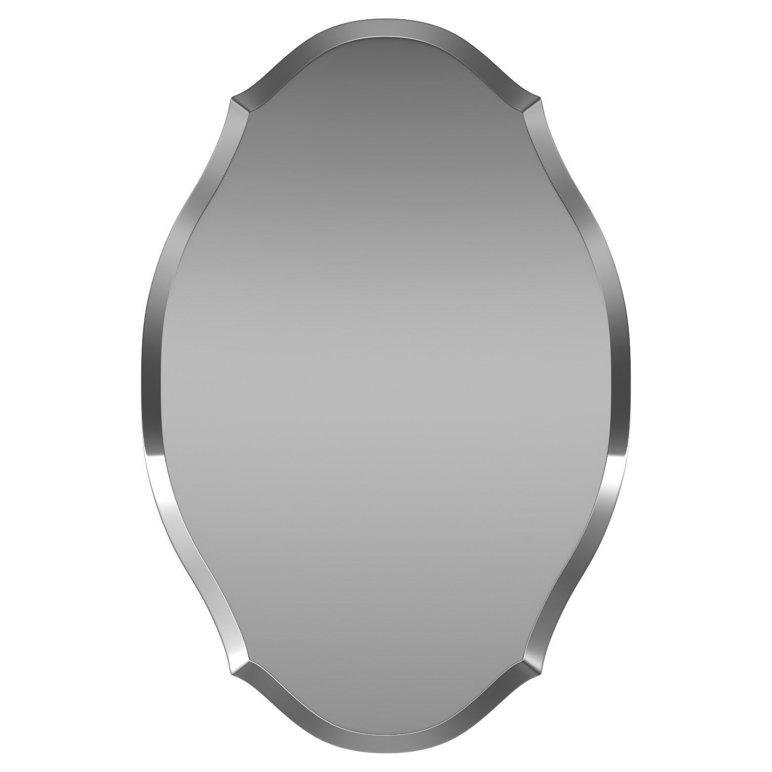 Egor Accent Mirror Wrlo7860 | 3D Model In Egor Accent Mirrors (Image 11 of 20)