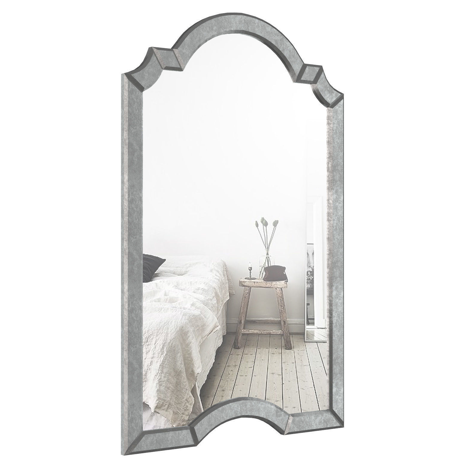 Ekaterina Arch – Crowned Top Wall Mirror Wlao1197 | 3D Model With Regard To Ekaterina Arch/crowned Top Wall Mirrors (Image 13 of 20)