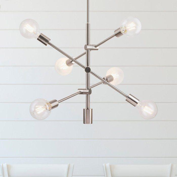 Eladia 6 Light Sputnik Chandelier In 2019   Stuff To Buy Regarding Eladia 6 Light Sputnik Chandeliers (View 8 of 20)