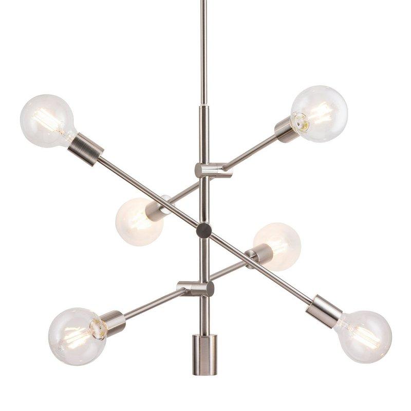 Featured Image of Eladia 6 Light Sputnik Chandeliers