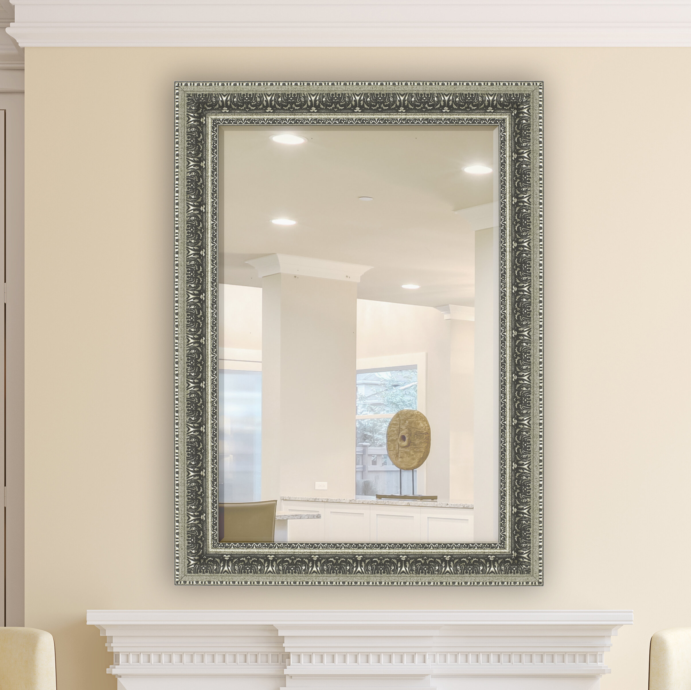 Elegant Wall Mirror | Wayfair Pertaining To Epinal Shabby Elegance Wall Mirrors (View 6 of 20)