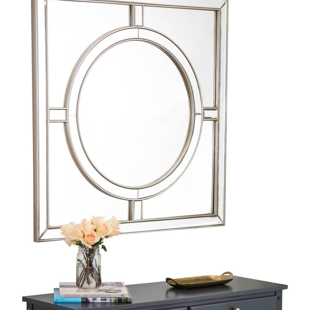 Elevate Your Entryway With This Champagne Sienna Starboard With Elevate Wall Mirrors (Image 9 of 20)