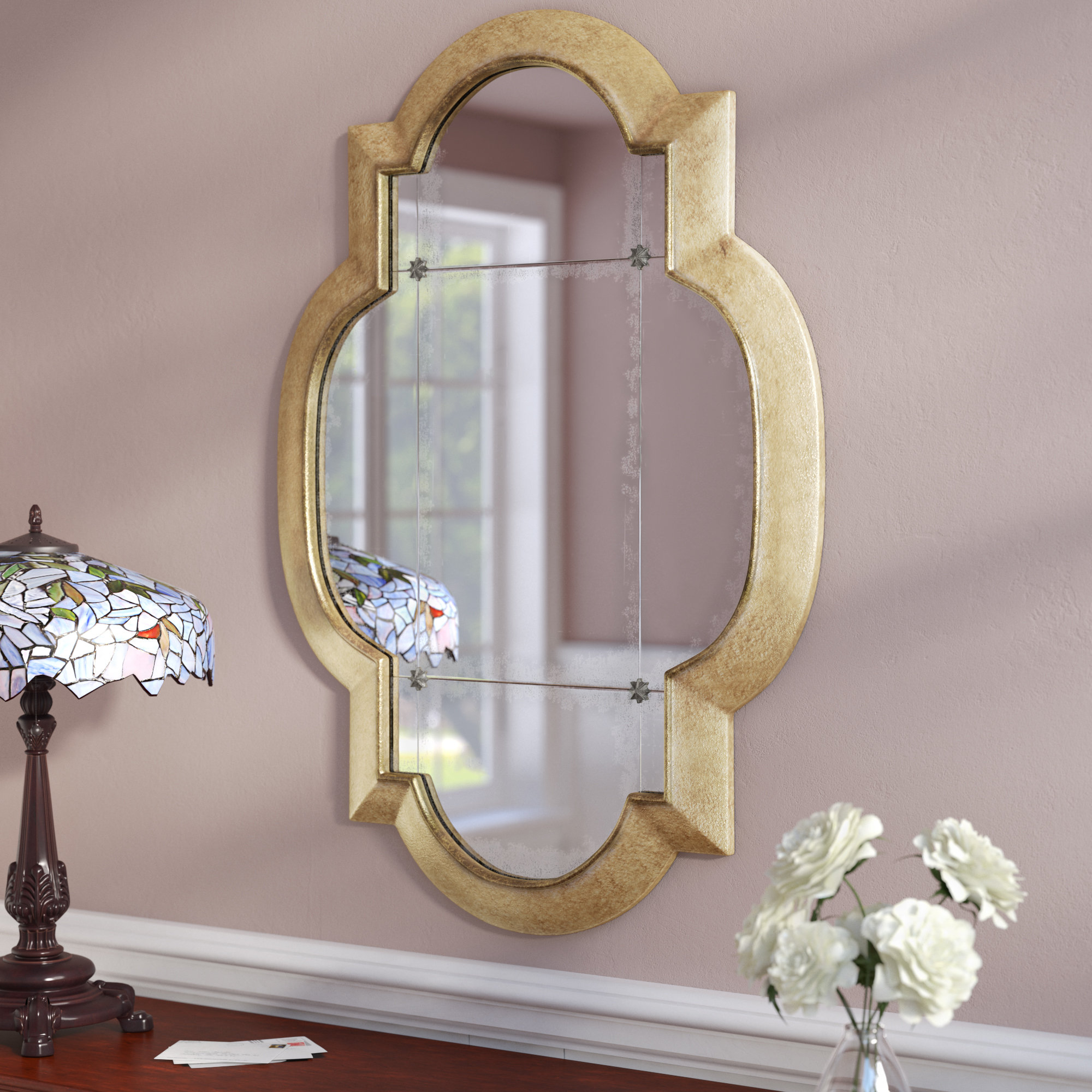 Eline Accent Mirror In Astrid Modern & Contemporary Accent Mirrors (View 14 of 20)