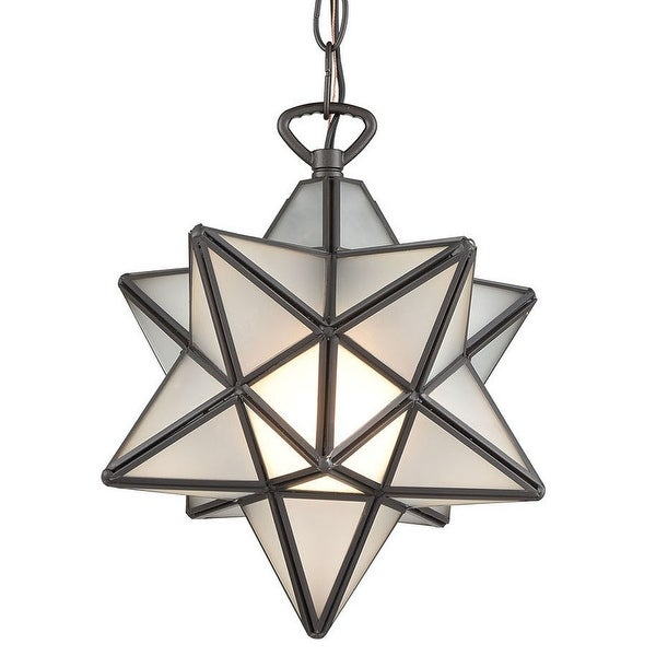 "Elk Home 1145 015 Moravian Star Single Light 9"" Wide Mini Pendant Pertaining To 1 Light Single Star Pendants (Image 18 of 25)"