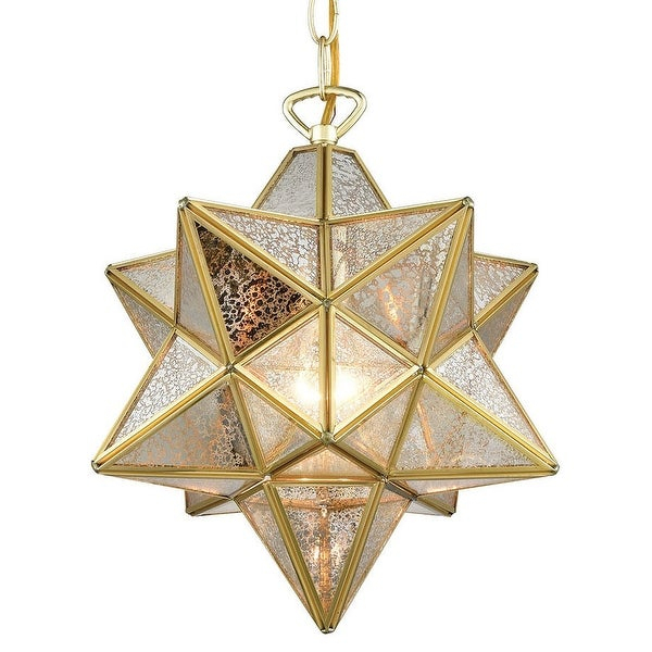 "Elk Home 1145 023 Moravian Star Single Light 12"" Wide Pendant Intended For 1 Light Single Star Pendants (Image 19 of 25)"