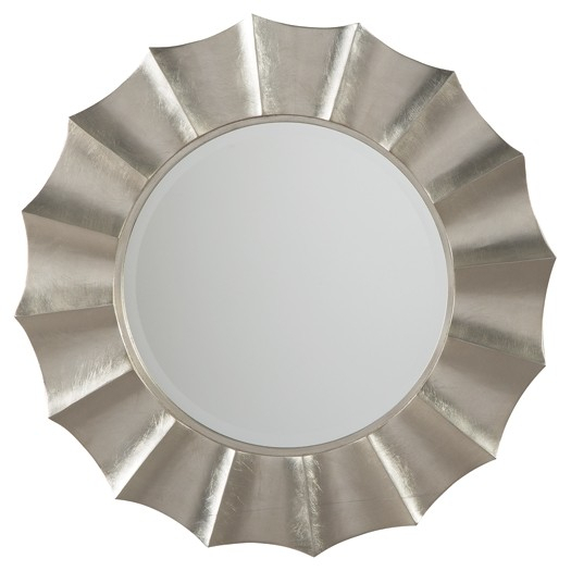Elsley – Silver Finish – Accent Mirror With Regard To Accent Mirrors (Image 15 of 20)