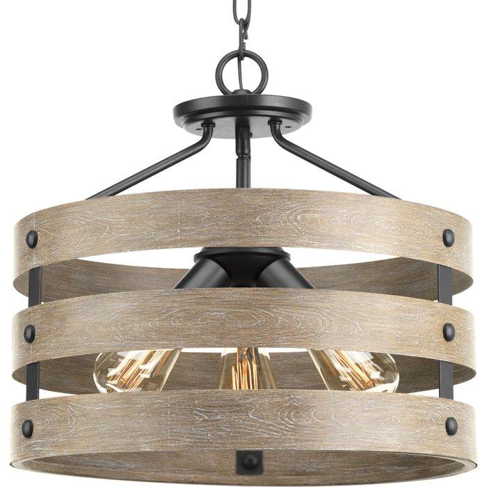 Featured Image of Emaria 3 Light Single Drum Pendants
