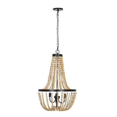 Empire – Bronze – Chandeliers – Lighting – The Home Depot Pertaining To Berenice 3 Light Cluster Teardrop Pendants (View 20 of 25)