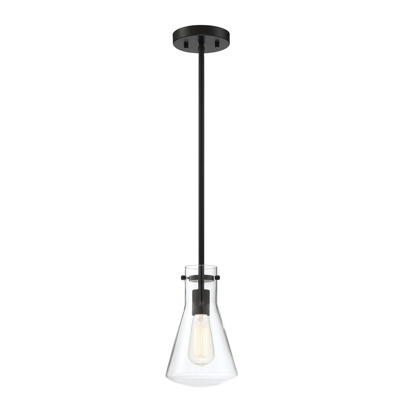 Enciso 1 Light Single Cone Pendant In Moyer 1 Light Single Cylinder Pendants (View 9 of 25)