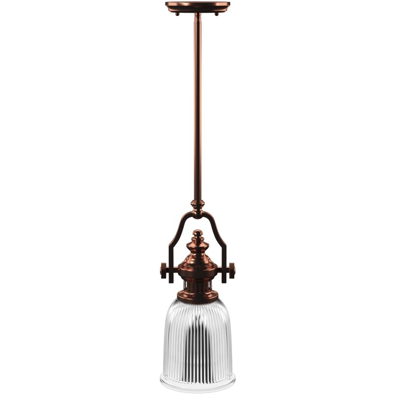 Featured Image of Erico 1 Light Single Bell Pendants
