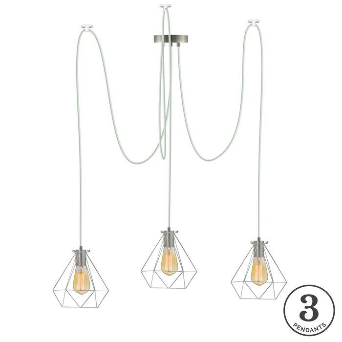 Esai 3 Light Cluster Pendant With Gattilier 3 Light Cluster Pendants (View 3 of 25)