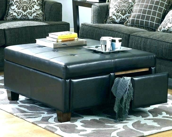 Espresso Ottoman Coffee Table – Aulamintic (View 19 of 25)
