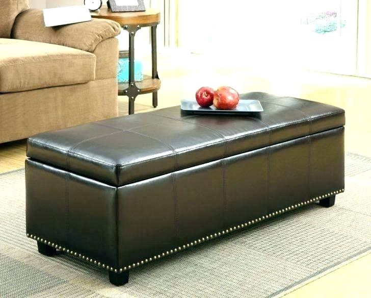 Espresso Ottoman Coffee Table – Djecaps With Regard To Lennon Pine Planked Storage Ottoman Coffee Tables (View 15 of 25)