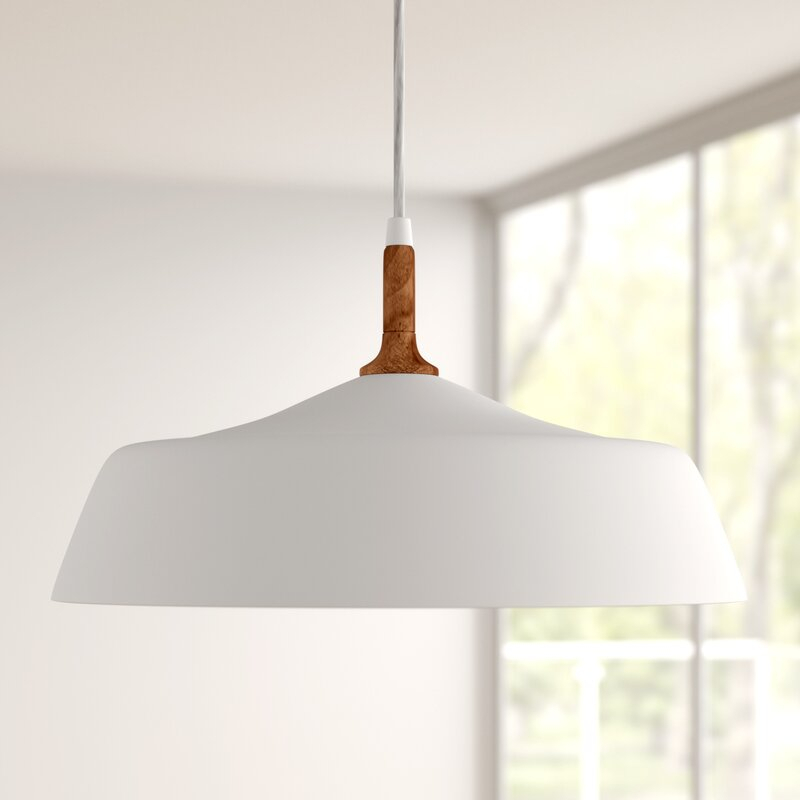 Evelyn 1 Light Dome Pendant With Regard To Gattis 1 Light Dome Pendants (View 21 of 25)