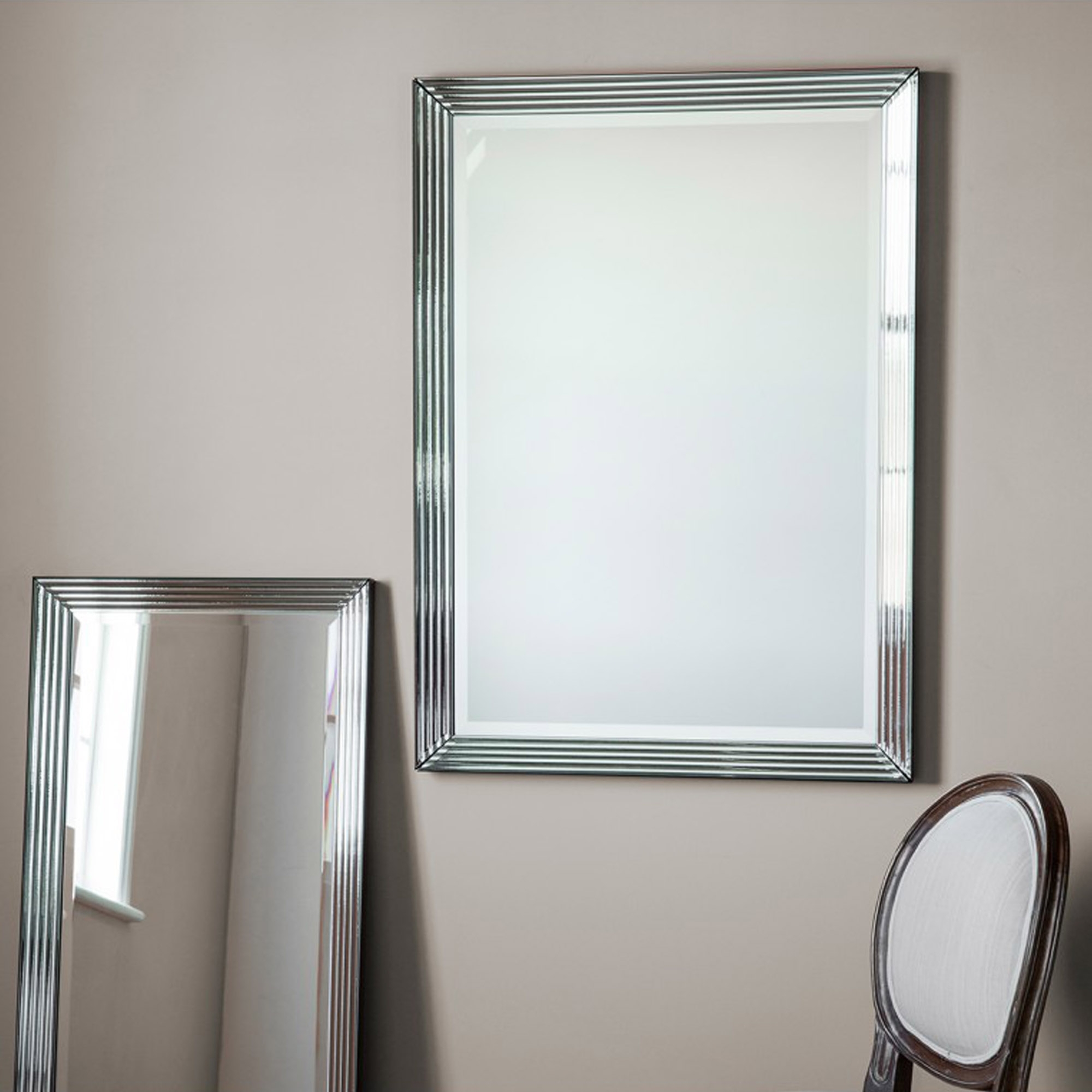 Exeter Rectangular Wall Mirror Throughout Wall Mirrors (Image 8 of 20)
