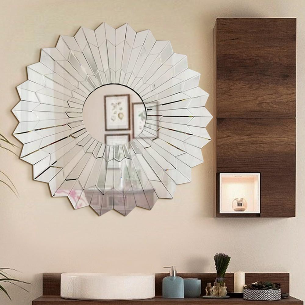 Fab Glass And Mirror Unavoce 39.5 In. L X 39.5 In (View 19 of 20)
