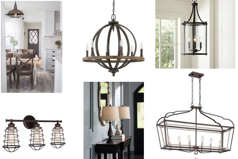 Farmhouse Lighting – What You Need To Know | Rustic Country Intended For Adcock 3 Light Single Globe Pendants (Image 14 of 25)