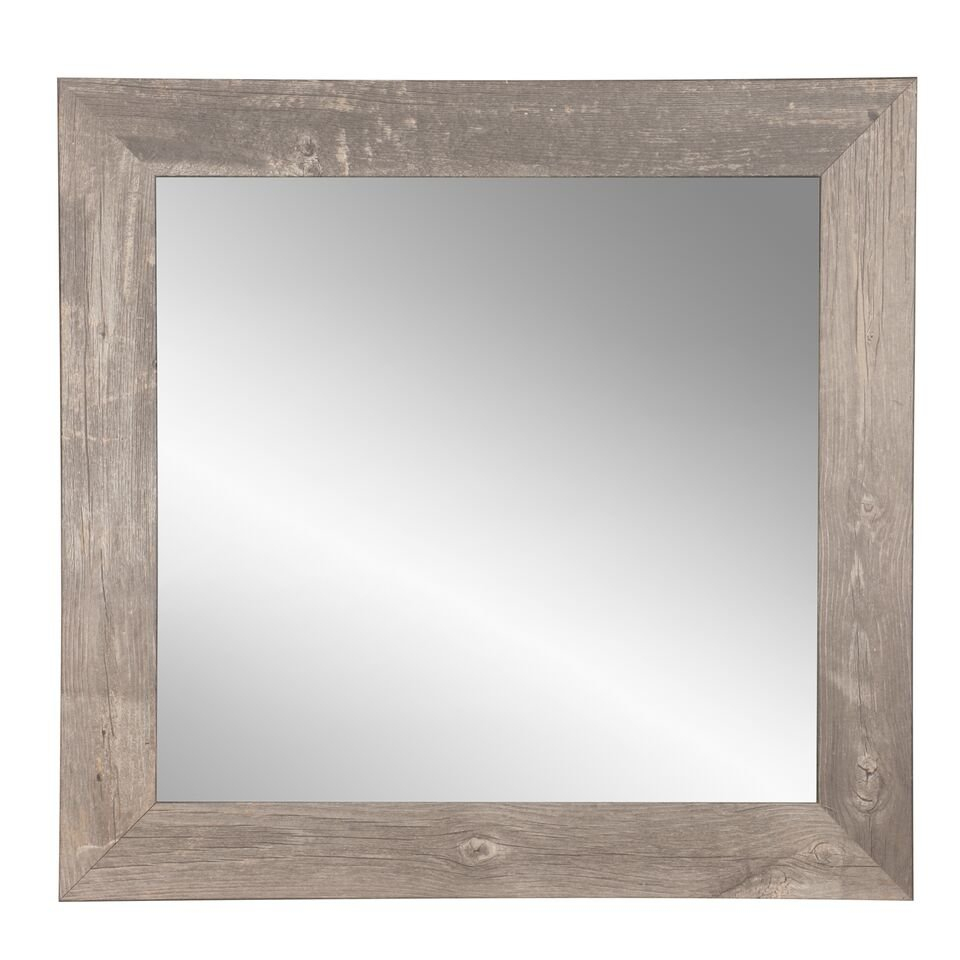Farmhouse & Rustic Bathroom Mirrors | Birch Lane Regarding Booth Reclaimed Wall Mirrors Accent (Image 5 of 20)