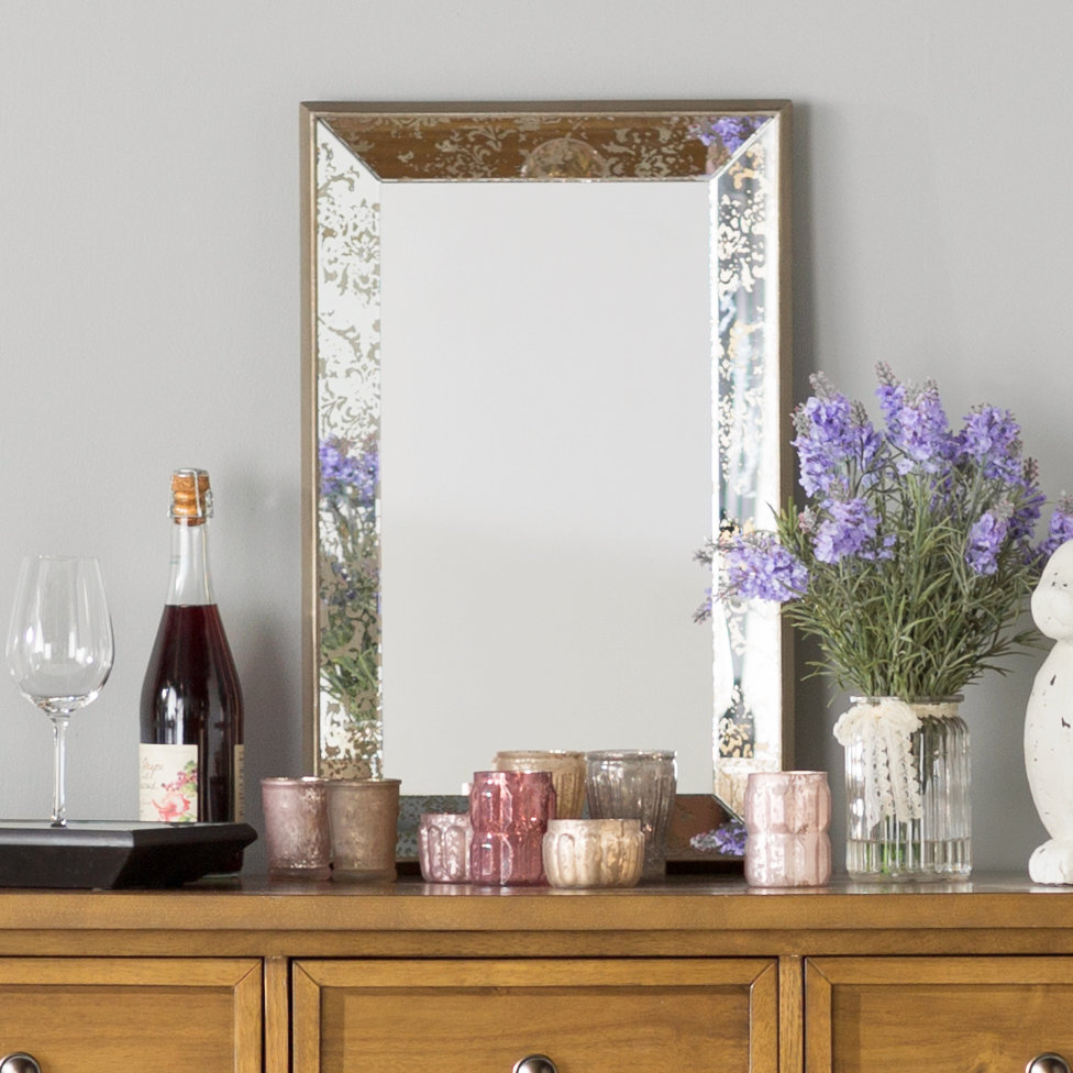 Farmhouse & Rustic Lark Manor Wall & Accent Mirrors | Birch Lane Intended For Stamey Wall Mirrors (Image 8 of 20)
