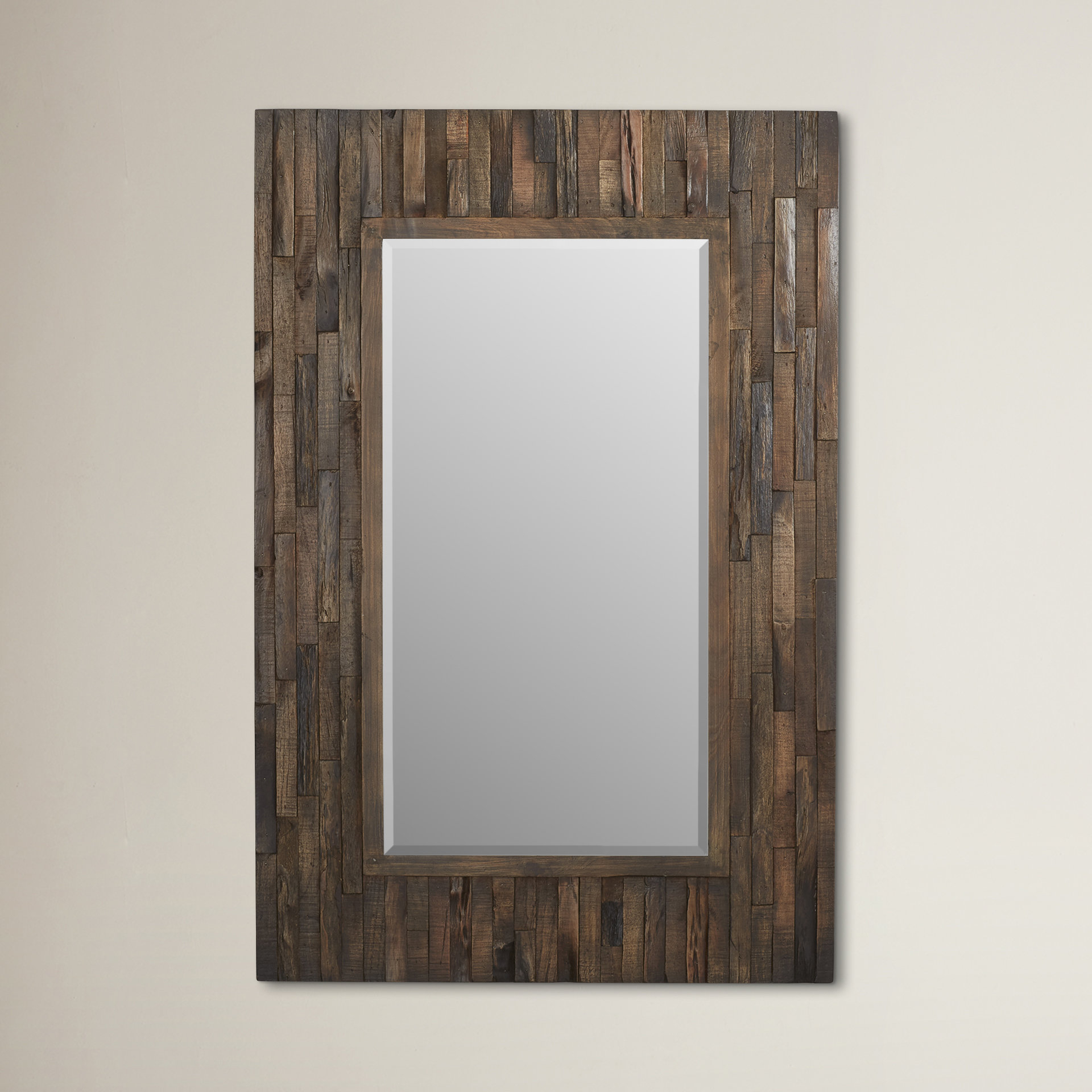 Farmhouse & Rustic Loon Peak Wall & Accent Mirrors | Birch Lane Pertaining To Lajoie Rustic Accent Mirrors (View 6 of 20)